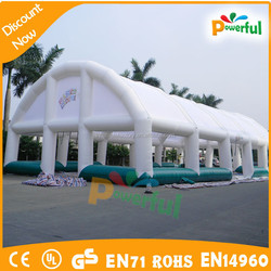 new giant inflatable football tents for sport games