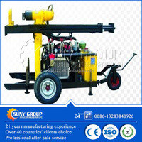 Hydraulic water well used drilling rig machine
