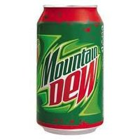 MOUNTAIN DEW 330ml can