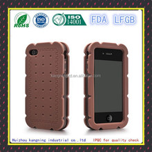 New Full Cover Back Side Silicone Hard Skin Case for iPhone