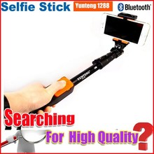 Wholesale factory price yunteng 1288 monopod selfie stick with zoom