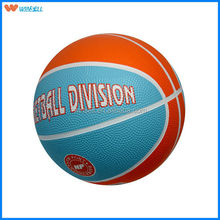 2015 colorful colourful mini size 3 rubber basketball