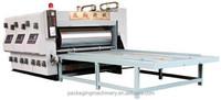 corrugated box printing machine/flexo printer/ slotter / rotary die cutter machine