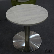 Modern marble top dining table/stone coffee table