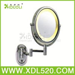 metal handheld mirror,fender mirror,compact mirror with diamond