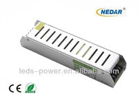2013 New Design Aluminum case driver Waterproof led switching power supply 60W 12V
