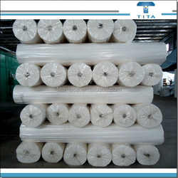 Hot selling water soluble nonwowen fabric used as chemical lace embroidery fabric backing from Hangzhou