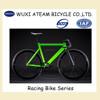 Green Wholesale Alloy Single Speed Road Racing Bike