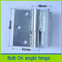 heavy duty weld tube iron square welding hinge
