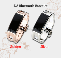 2015 Hot sale new model bracelet watch mobile phone D8 smart watch phone