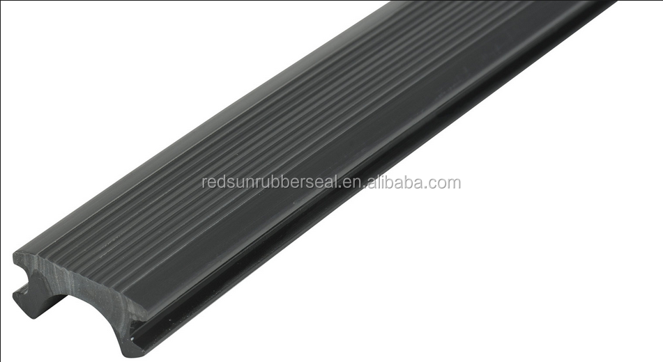 Rubber strips for car bumpers