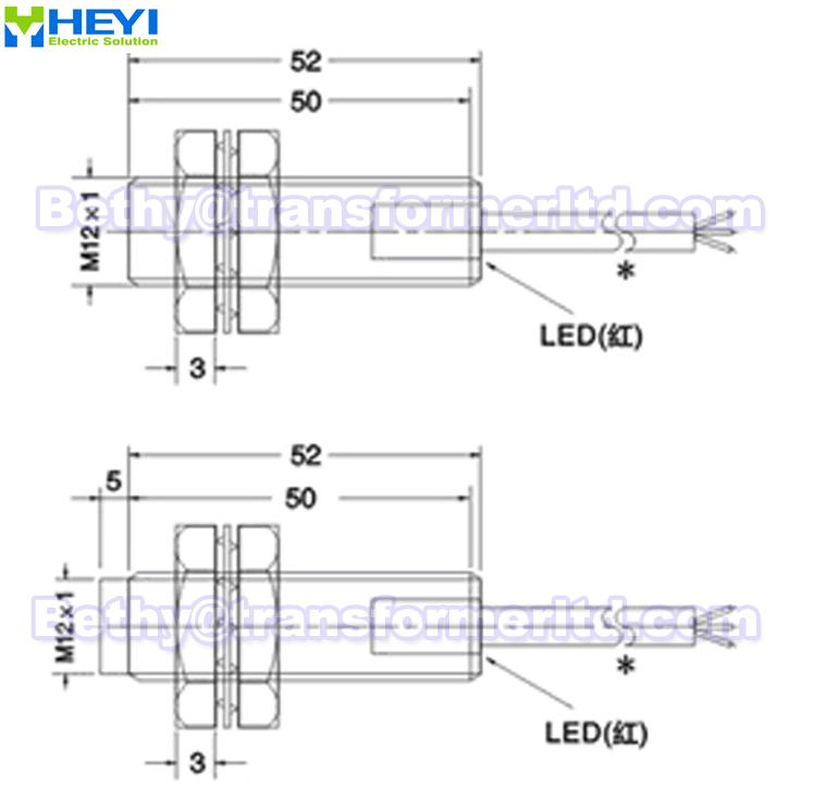 Magnetic Proximity Sensor Lj12a3-4-z/ex & Lj12a3-2-z/dx 2-wire ...