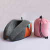 Better neck rest memory foam u shape therapeutic neck pillows