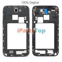 Wholesale 100% Original Genuine Black Back Frame Housing Back Plate Middle Bezel For Samsung NOTE 2 II N7100
