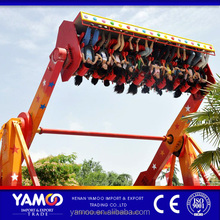 Yamoo cheap amusement park rides top spin funfair rides/amusement games space travel for sale