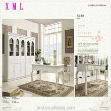 new design hot sale white color dining room set furniture in china