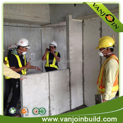 thermal insulation dampproof cement sandwich panel for partition