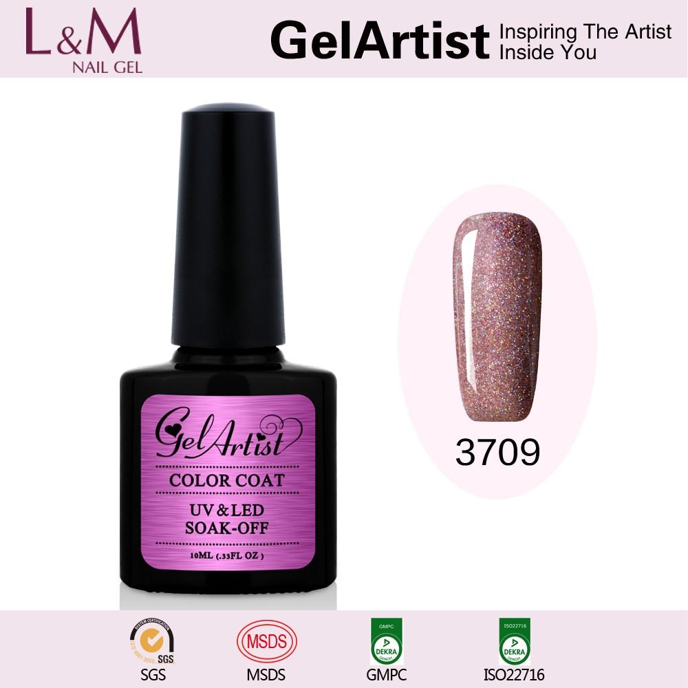 UV Gel Manufacturers Wholesale GelArtist Rainbow Color Gel Nail Polish