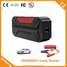 ce fcc rohs certification 61.05WH 24V 12V 500A electricity Storage half year emergency automotive jump starter