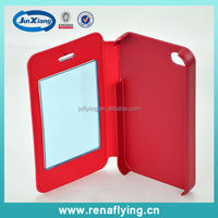 fancy hybrid flip mobile phone cover for iphone 4 China supplier