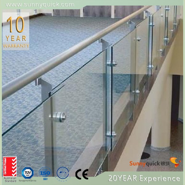 China supplier balcony stainless steel railing designs for Balcony glass railing designs pictures