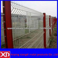 pvc valla barato revestido de jardín