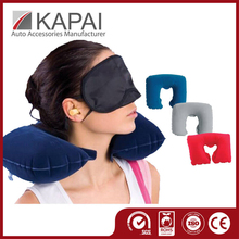 Most Popular Inflatable Neck Pillow Air Flocking Best Neck Pillow Cars