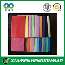 wholesale types of printing and colored acid free tissue paper