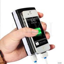 Fashion portable solar power bank case,5000mah 12000mah 30000mah waterproof solar charger