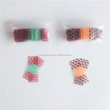 Plastic small size zipper envelope