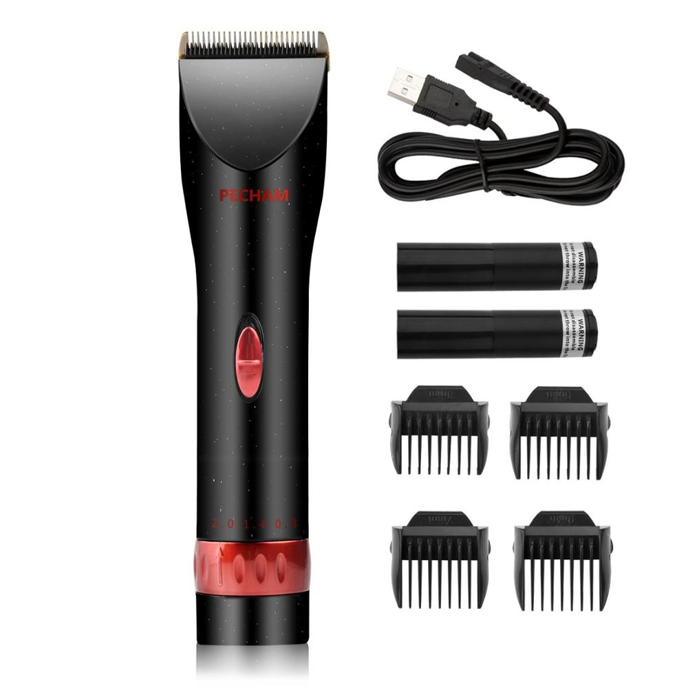 Wholesale Guangzhou Cordless Cheap electric hair cutting machine hair trimmer kit set modern used hair salon equipment