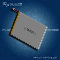 4367133 3500mAh flat cell lithium ion battery