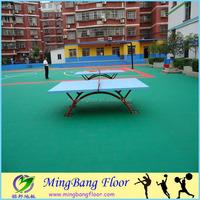 100%PP material Tennis court PP Interlock Sports Floor
