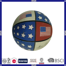 High quality promotional China manufacturer professional advertising basketball