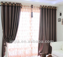 2015 New organza embroidered curtains embroidery silk curtain silk embroidery curtain