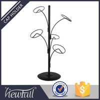 Hat boutique metal tree shape hat stand