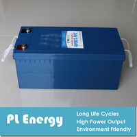 24V 100AH lithium battery pack for marine boat