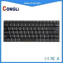 black color wireless keyboard for laptop with different layout and Language