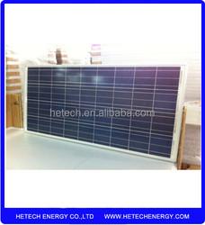 import china polycrystalline solar panel 18v 125W