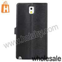 Squirrel Grain Magnetic Stand Flip Leather Case Cover for Samsung Galaxy Note 3 III N9000 with Card Slot