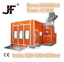 Top Rank auto spray booth with special price for body shop