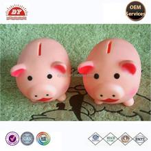 high quality Pvc toy pig coin