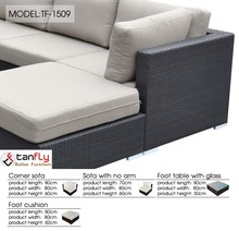 Most comfortable living accents outdoor furniture paito sofa.
