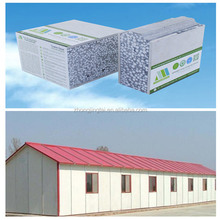 new thermal and acoustic steel frame house sandwich wall panel system