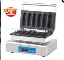 Automatic french muffin hot dog machine/ corn hot dog grill making machine/ gas hot dog warmer machine for sale