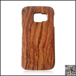 kingphone factory galaxy s6 real wood bamboo case natural wood mobile phone case for s6 edge best selling mobile accessories