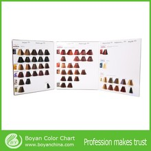 High Quality hair colour mixing chart iso hair color swatch chart in hair dye