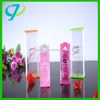 good quanlity plastic folding box customized PET/PVC/PP acetate boxes
