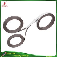 Flexible Advertising Teaching Magnetic Strip Rubber Magnet with Double-sided adhesive