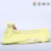 Hot sale organic cotton baby blanket and toys